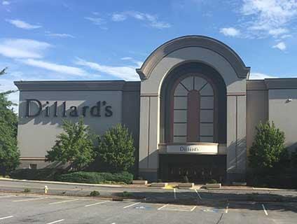 Dillard's Valley Hills Mall Hickory North Carolina