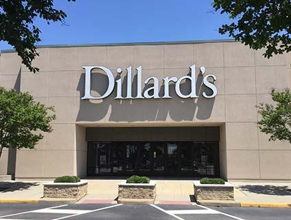 Dillard's Patrick Henry Mall Newport News Virginia