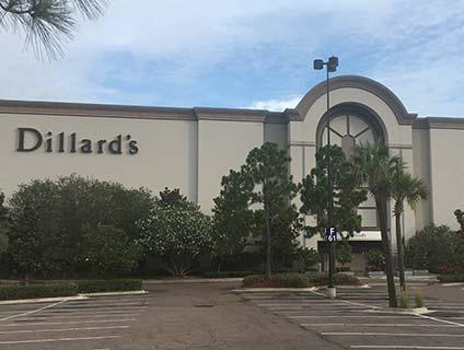Dillard's International Plaza Tampa Florida
