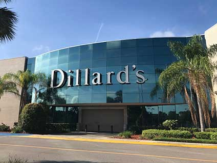 Dillard's Lakeland Square Mall Lakeland Florida