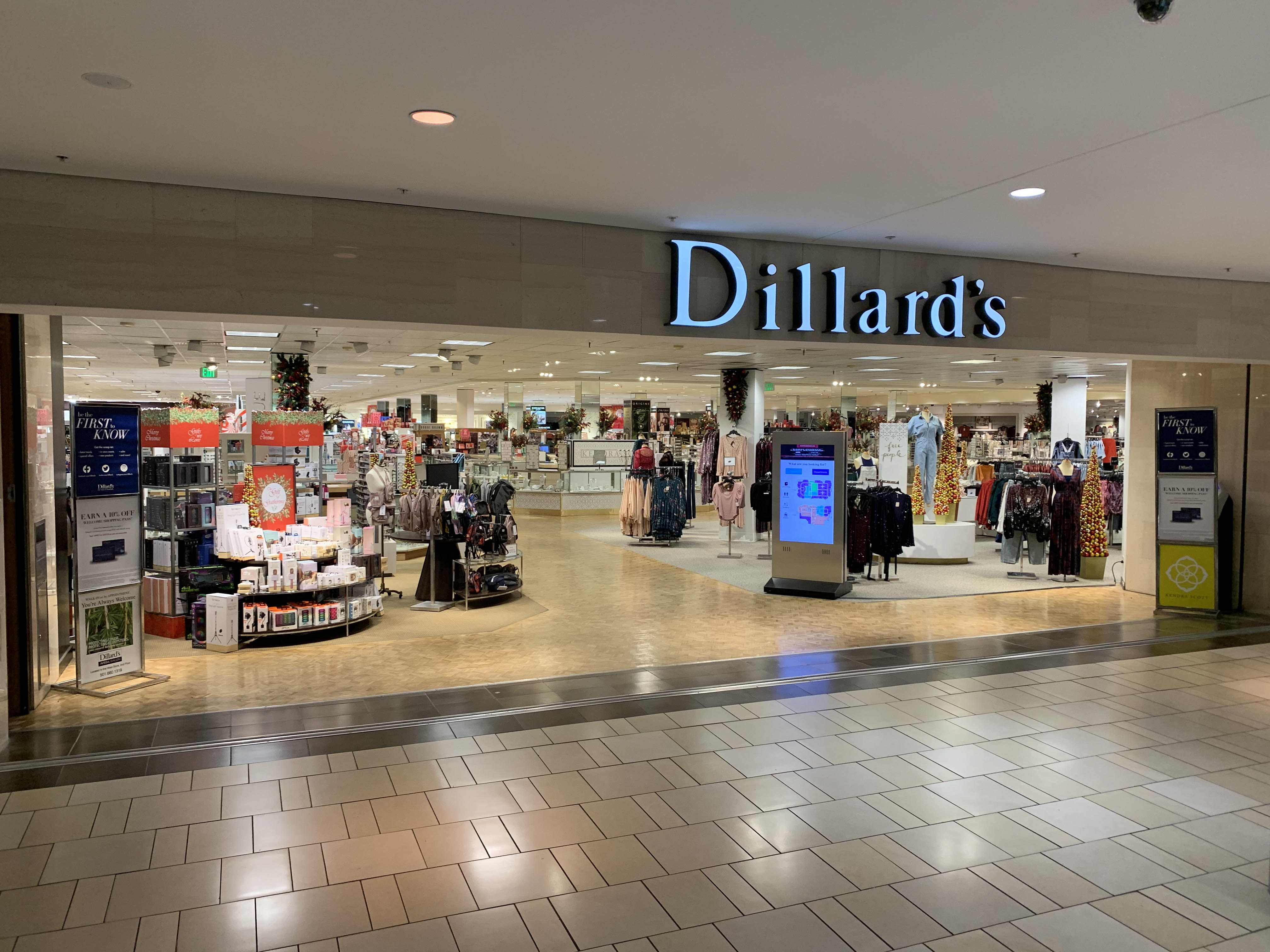 Dillard's Park Plaza Center Little Rock Arkansas