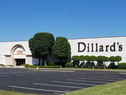 Dillard's Governor's Square Clarksville Tennessee