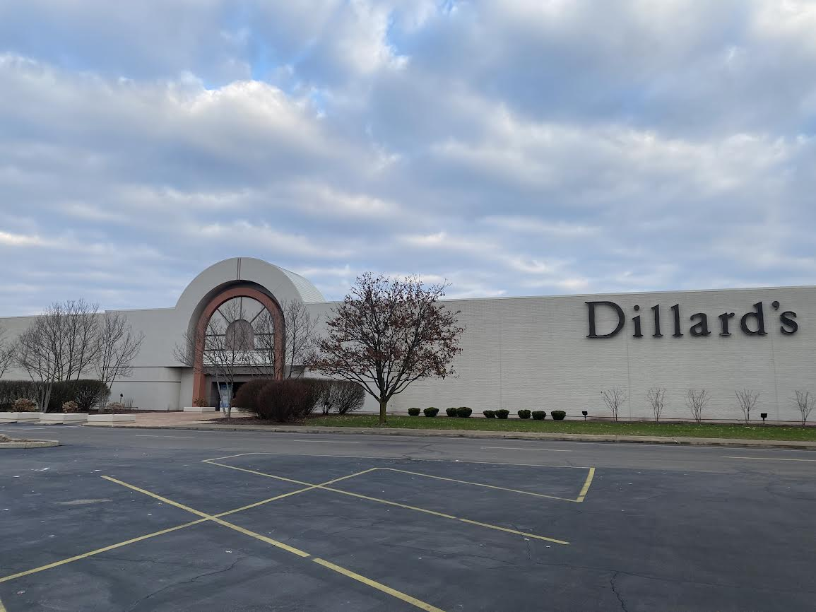 Dillard's Eastwood Mall Niles Ohio