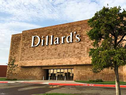 Dillard's Westgate Mall Amarillo Texas
