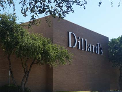 Dillard's Midland Park Mall Midland Texas