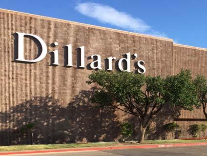 Dillard's Music City Mall Odessa Texas