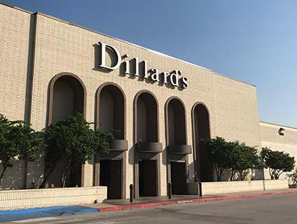 Dillard's Central Mall Port Arthur Texas