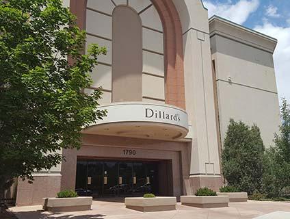 Dillard's Chapel Hills Mall Colorado Springs Colorado