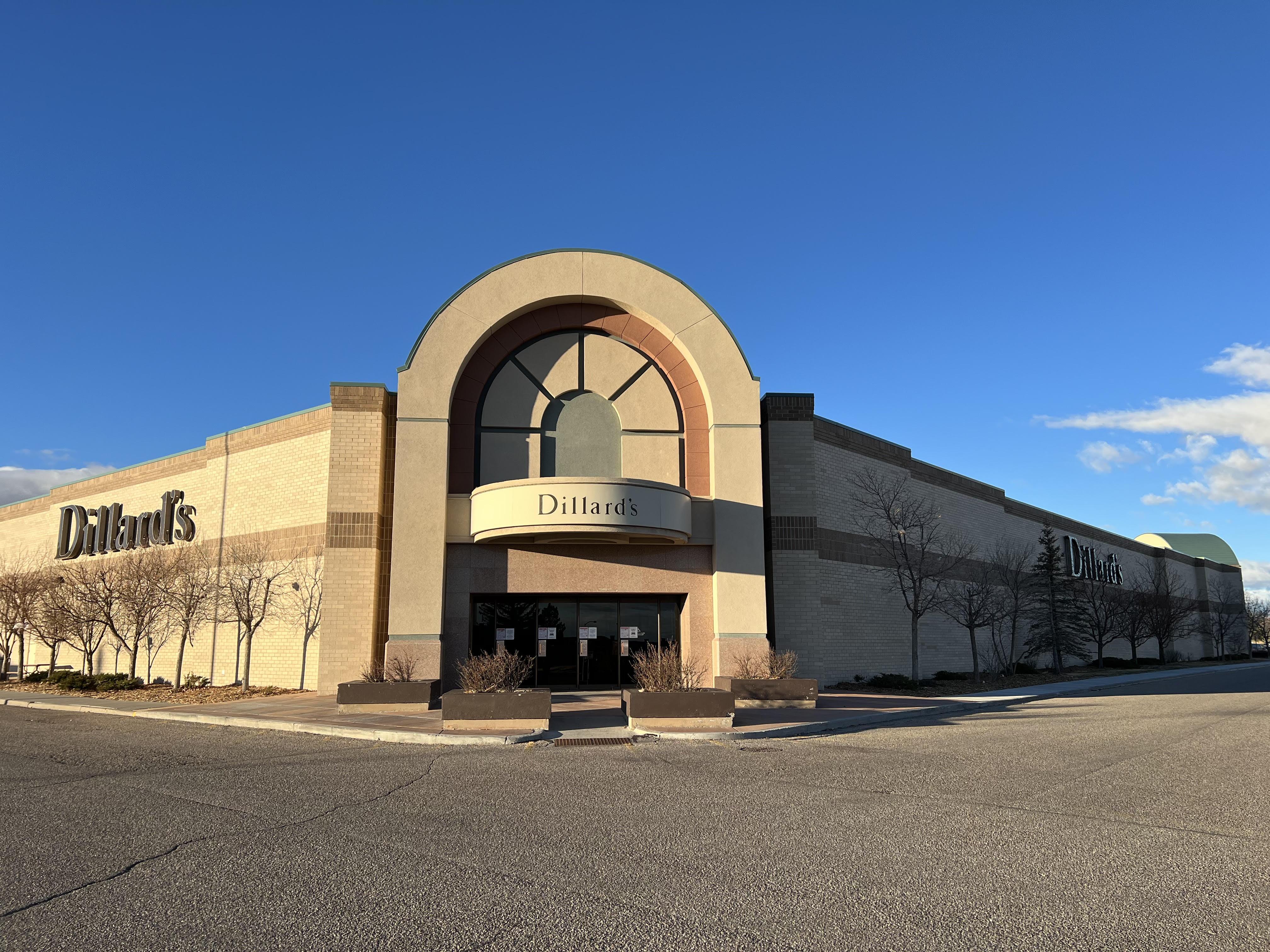 Dillard's Frontier Mall Cheyenne Wyoming