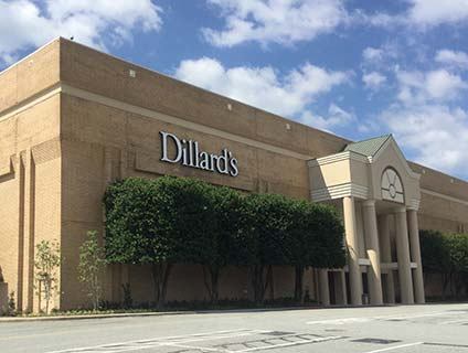 Dillard's Four Seasons Towne Center Greensboro North Carolina