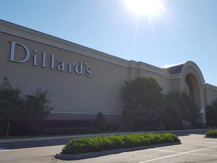 Dillard's Lynnhaven Mall Virginia Beach Virginia