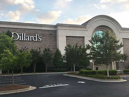 Dillard's Ashley Park Newnan Georgia