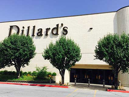 Dillard's Central Mall Fort Smith Arkansas
