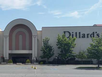 Dillard's Oak Hollow Mall High Point North Carolina