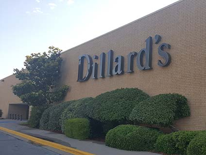Dillard's Central Mall Lawton Oklahoma