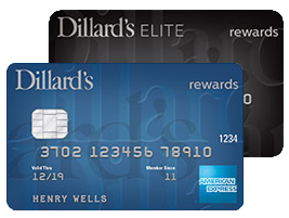 two dillard's credit cards