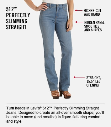 49466df4e621f Women s Fit Finder Levis Logo Mid Rise Skinny 505 Straight 512 ...