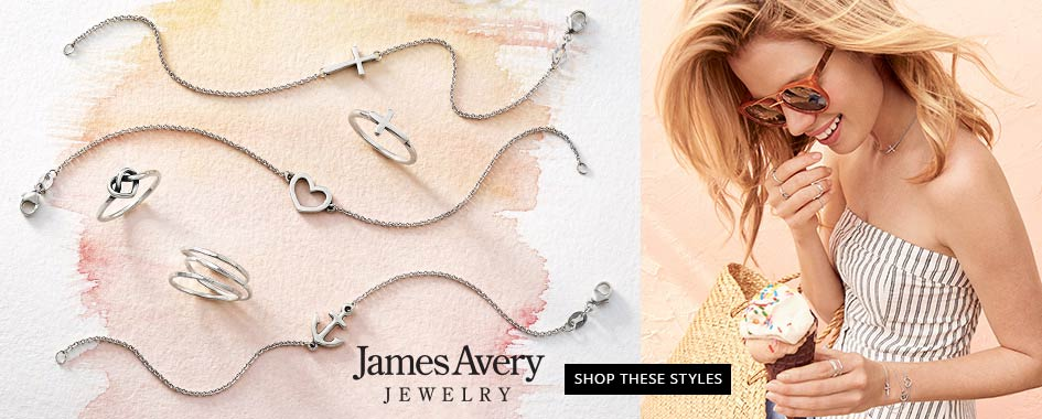 James Avery Crosses, Hearts, and Anchors