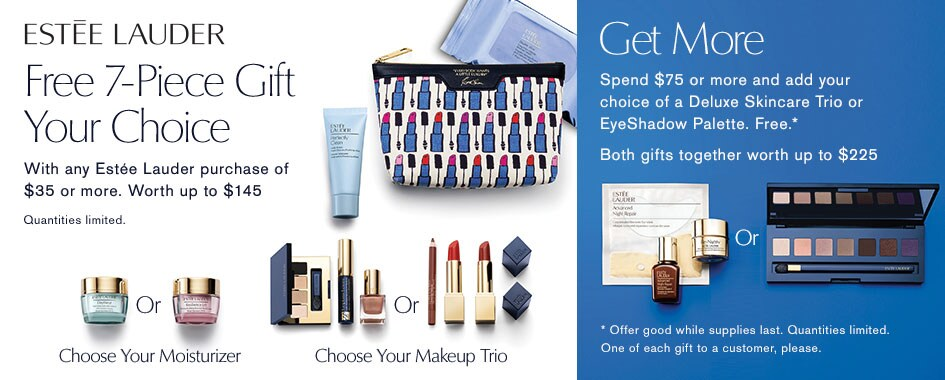 Estee Lauder 7-piece Gift with Purchase on Dillards.com