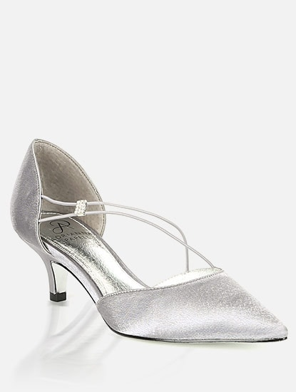 Adrianna Papell brand silver pump