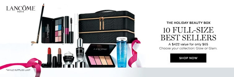 Lancome PWP - The holiday beauty box