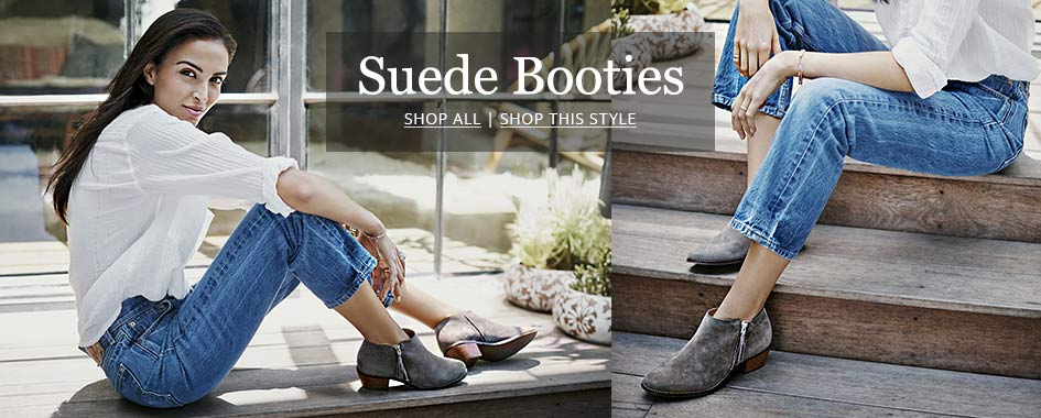 Shop Suede Booties