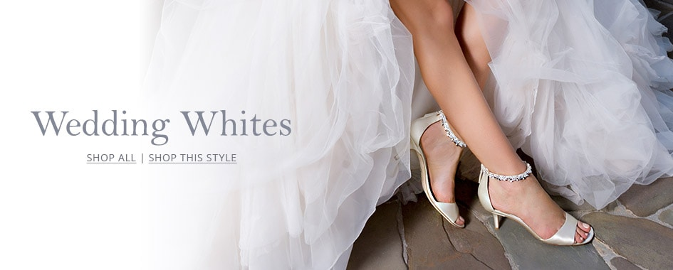 Shop White Wedding Shoes On Dillards