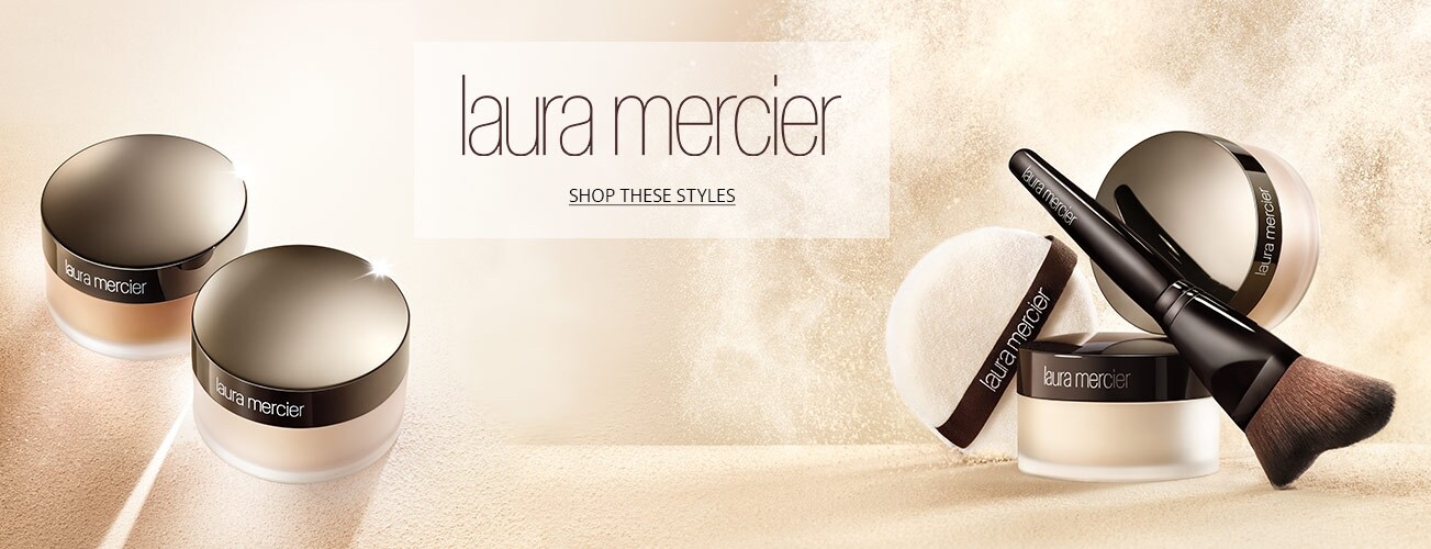 Laura mericier creative image of powder and highlight