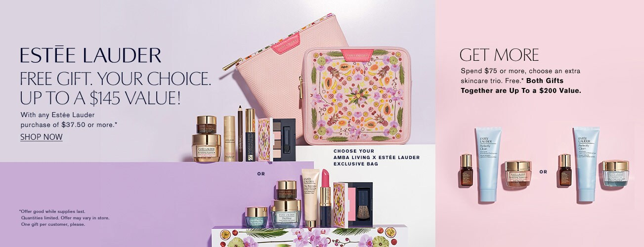 Estee Lauder GWP - Free gift with any Estee Lauder purchase of $37.50 or more
