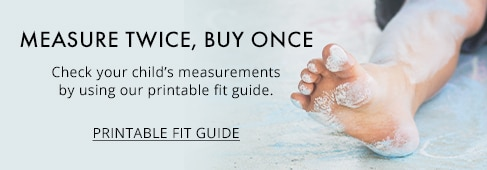 Print Kids' Shoe Fit Guide