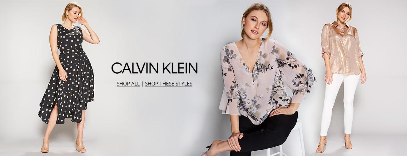 07ae38d730 Women s Plus-Size Clothing. Shop women s Calvin Klein plus styles on  Dillards.com
