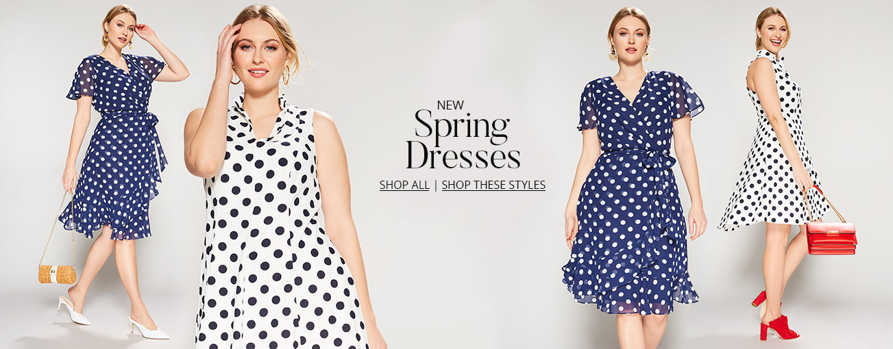 64aad49c892 Shop plus women s spring dresses on Dillards.com