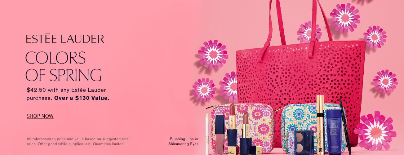 Estee Lauder colors of spring PWP