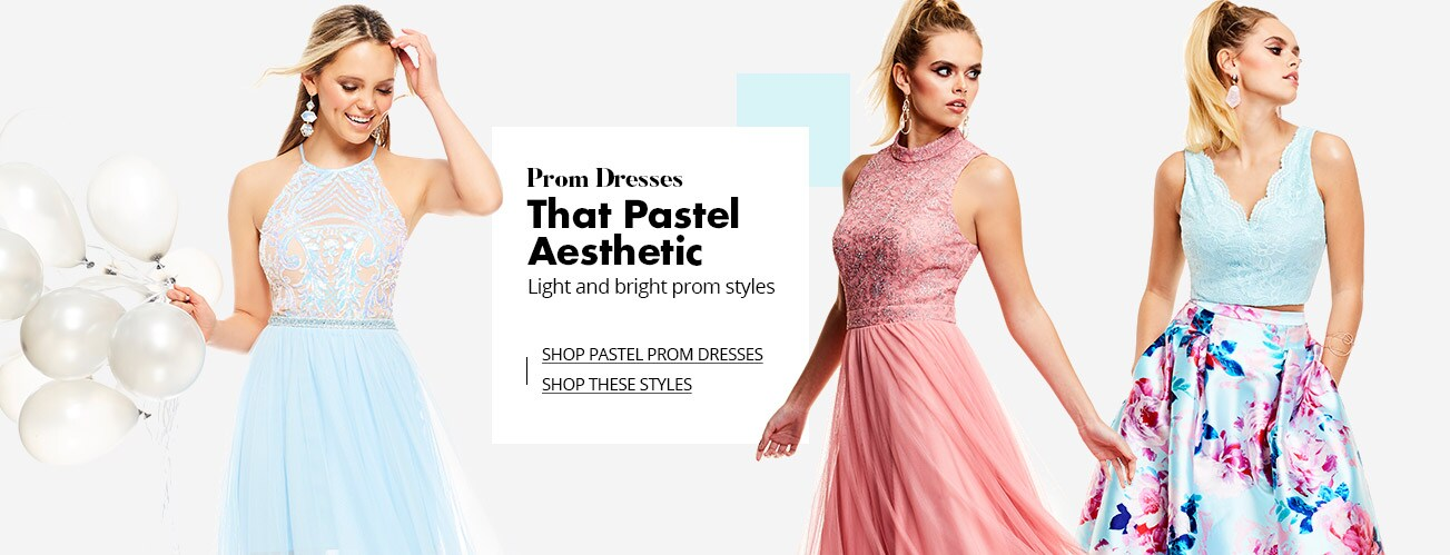 7a8c0ccc8b14 Shop Pastel Prom Dresses on Dillards.com