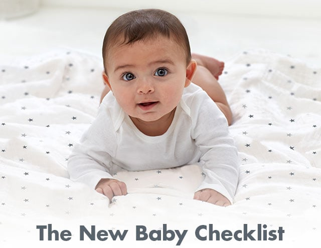 Shop the New Baby Checklist