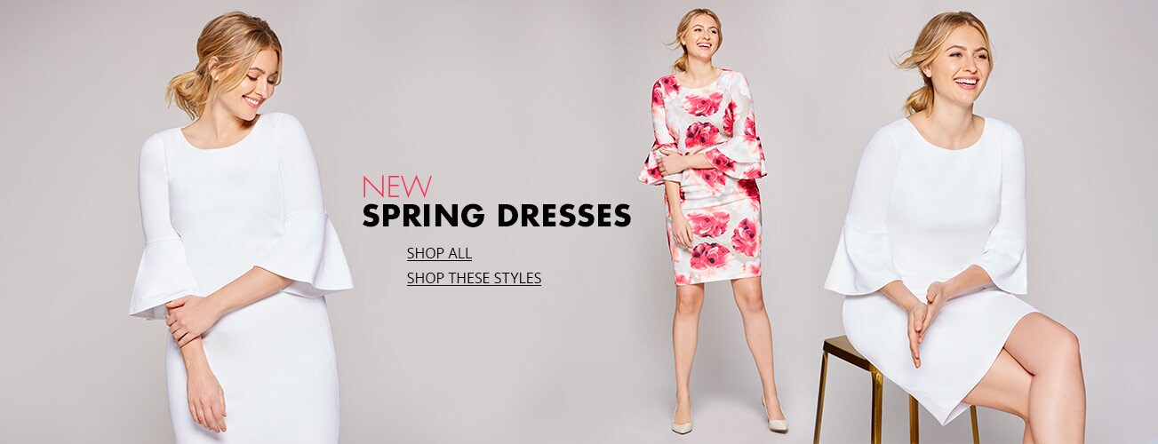 b0e207a166 Shop women s spring dress plus styles on Dillards.com