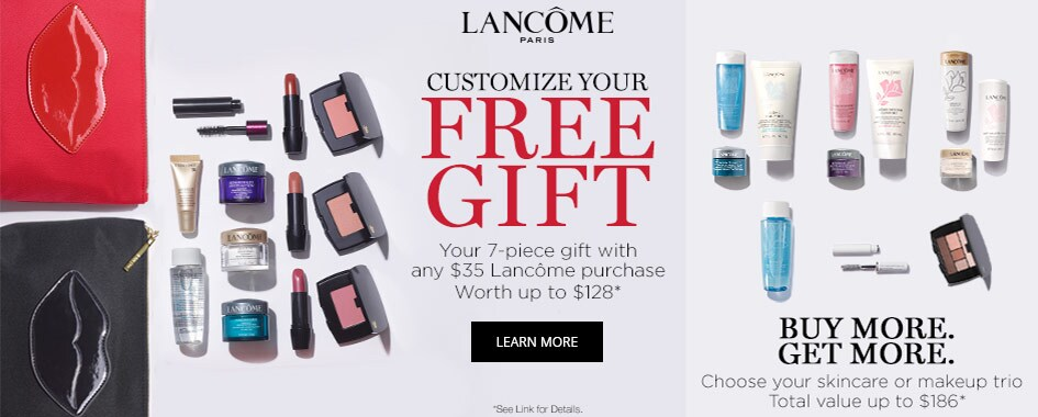 Lancome 7-Piece Gift with Purchase
