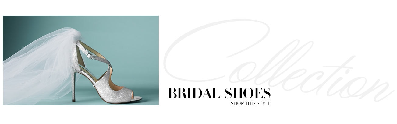 eb429987811 Women s Bridal Shoes. Shop bridal shoe collection