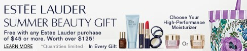 Estee Lauder Summer Gift with Purchase