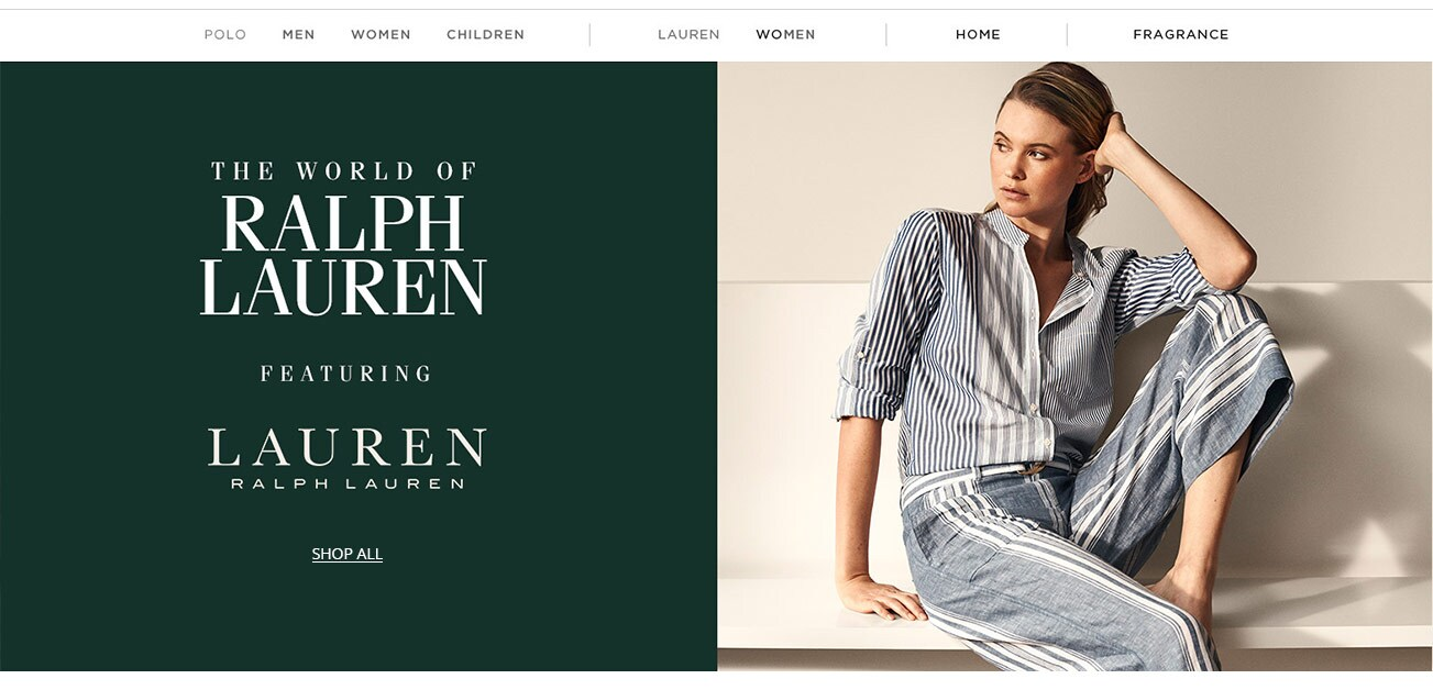 promo code 2bd43 5d9ef The World of Ralph Lauren