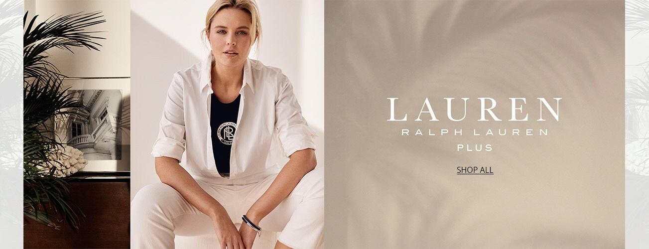 c6a1ad2c6d0 Shop women s Lauren Ralph Lauren plus styles on Dillards.com