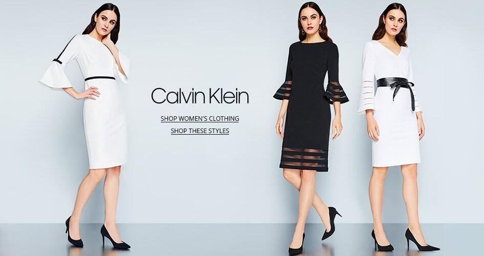 Shop Women's Clothing from Calvin Klein