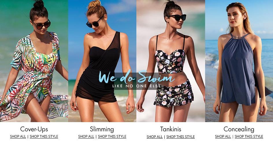 Shop Women's Swimwear Trends