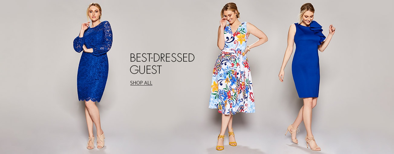 a65d335c304e Shop plus women's best dressed guest dresses on Dillards.com