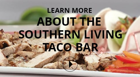 Southern Living Taco Bar Product Video
