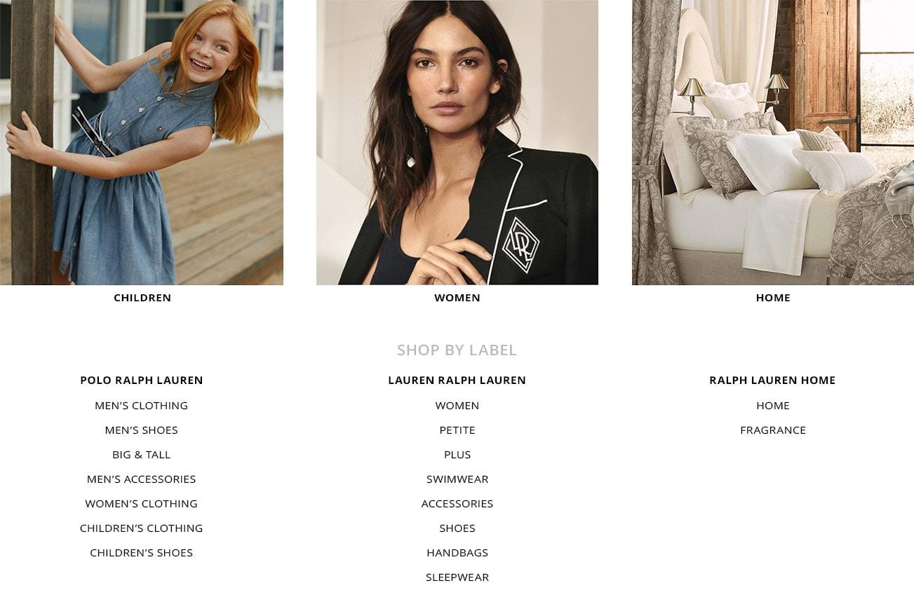 357b3745 The World of Ralph Lauren. Mens Clothes · Mens Shoes ...