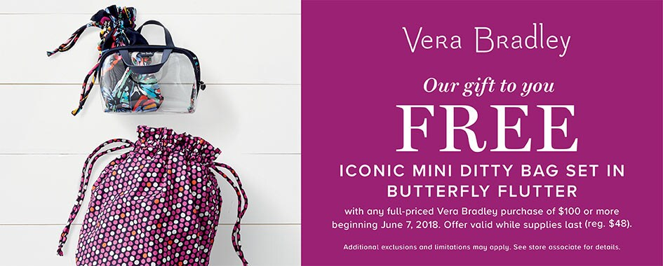 Vera Bradley Gift with Purchase
