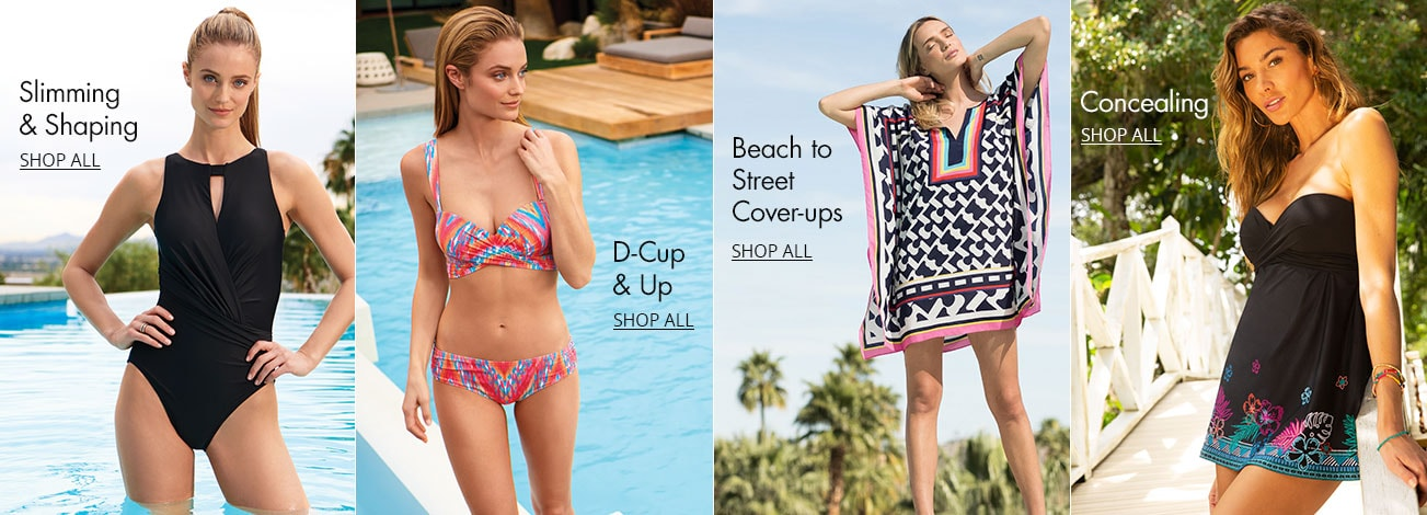 67a00a32642d7 Women's Swimsuits & Cover-Ups. Shop women's swimwear styles on Dillards.com
