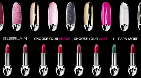 Learn More about Guerlain Custom Lipstick Shades and Cases