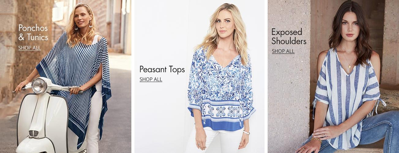 0b07ce59693 Women's Casual & Dressy Tops & Blouses | Dillard's